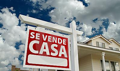 house sale sign canary islands