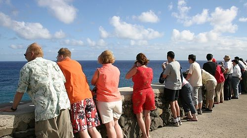 Tourists Canary Islands