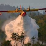 Hydroplane La Gomera Forest Fires